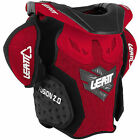 Leatt Fusion 2.0 Chest Neck Protector Motorcycle Protection Red