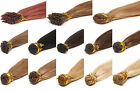 Pre Bonded Stick I Tip 100% Grade 7A Brazilian Remy Human Hair Extensions 20''1g
