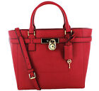 Michael Kors Hamilton Women's Large Tote Handbag Saffiano Leather