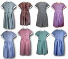 Traditional School Uniform Candy Stripe & Gingham Summer Dresses - Adult Sizes