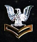 US NAVY 2nd CLASS PETTY OFFICER GOOD CONDUCT HAT PIN E5 CROW ENLISTED SAILOR WOW