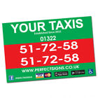 2 X Full Colour Digitally Printed Magnetic Vehicle Signs (Pair) - Free Delivery