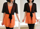 New fashion summer women's Chiffon shawl sweater coat thin sunscreen clothing