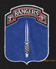 3RD RANGER BATTALION HAT PATCH US ARMY FORT BENNING PIN UP 75TH RANGER REGIMENT