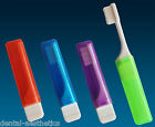 2 x Travel Toothbrush (Choice of 4 Colours) ~ Great for Holidays, Camping & Bags