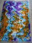 """Altar Cloth/Wiccan/Pagan/Sarong/Tapestry/Scarve Tie DyeTriquetra 42"""" x68"""" SCV106"""