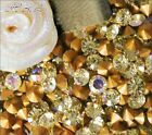Swarovski Jonquil AB Crystal Chatons 1012 Foiled pointed stones 2mm ss6 + CHOICE