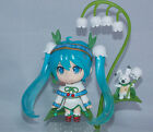 Vocaloid Miku Snow Bell Ver. Mini Japanese Anime Figure Sets 10cm CHN Ver.