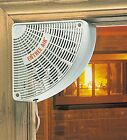 Room to Doorway Corner FAN Circulates Air/Heat/AC From Heat Pump Mini Split