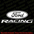 From USA - FORD RACING LOGO Die Cut Car Window Vinyl/Phone Decal Sticker FD003