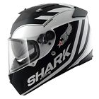 Shark Helmet Speed-R Avenger Motorcycle Helmet Black / White