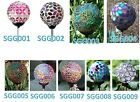 Solar Glass Ball Color Change Garden Stake Outdoor Lamp Yard Lawn LED Path Light $12.59 USD