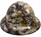 """WILD-SIDE"" ""GLOW in DARK"" AMERICAN CAMO FB and CS HYDRO DIPPED Safety Hard Hats"