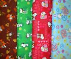 SNOOPY  #3  Fabrics, Sold Individually, Not As a Group, By The Half Yard
