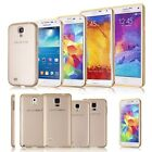 Aluminum Metal Bumper + PC Back Case Cover For Samsung Galaxy S5/S4 Note 4/3