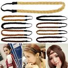 Stylish Lady Girls Hair Band Headband Plait Elastic Bohemia Braid Hairband