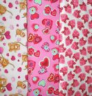 Clearance VALENTINES #2Fabrics,Sold Individually,Not As a Group,By The Half Yard