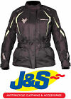 FRANK THOMAS FTW706 COMET LADIES MOTORCYCLE JACKET WATERPROOF MOTORBIKE FLUORO