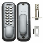 Arrone AR/D-195MC Digital Push Button Door Lock Key Pad Code Combination Access