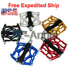 """iMeshbean® Bike Bicycle Pedals 9/16"""" MTB BMX DH Platform Pedals Cycling Pedals"""