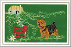 Norwich Terrier Birthday Card Embroidered by Dogmania