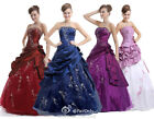 Faironly Long Unique Evening Dress Formal Prom Ball Gown Size 6 8 10 12 14 16