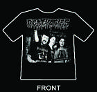 "AGATHOCLES ""labelisation� short sleeve shirt spazz phobia rot dead infection"