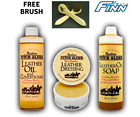 Premium Leather Balsam Mink Oil Wax Conditioner Cleaner Protection - All Natural