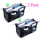($4.29/Count) 2 Pack Travel Insert Handbag Purse Large Liner Organizer Tidy Bags