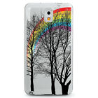 TPU Case for Galaxy Note 3 - Rainbow Tree Forest