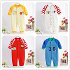 Unisex Baby Clothes Romper Pant Jumpsuit Sleepsuit Outwear Newborn Embroidery
