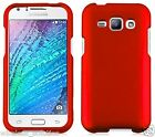 RED Snap-On Case Hard Cover for Samsung Galaxy J1