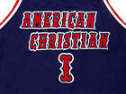 TYREKE EVANS AMERICAN CHRISTIAN HIGH SCHOOL Blue NEW -  ANY SIZE XS - 5XL