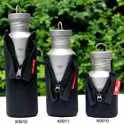 Keith Bottles Cover Sport Water Bottle Pouch Camping Bottles Poch Black