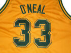 SHAQUILLE O'NEAL COLE HIGH JERSEY GOLD SHAQ NEW -   ANY SIZE XS - 5XL