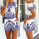 Sexy Ladies Summer Clubwear Playsuit Bodycon Party Jumpsuit & Romper Trouser