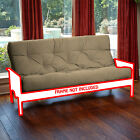 Futon Mattress w/ Solid Cover 8 Layer Factory Direct from Manufacturer F/Q USA