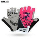 New Women Sports Cycling Gloves Bicycle Bike Half Finger Gloves MTB Riding Glove