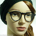 60s VINTAGE Retro Circle Eyewear Round Unisex Frame Clear Lens Eye Glasses NEW