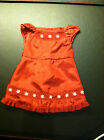 Americn Girl Doll's pretty Scarlet and Snow Dress for the holidays! Retired!
