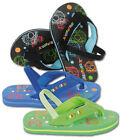 URBAN BEACH BUBBLE BUS KIDS FLIP FLOPS SIZE 5-10 AVAILABLE BLACK, BLUE, GREEN