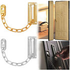 Home Office Chrome Finish Door Chain Guard Security Lock Cabinet Latches Screws