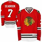 Chicago Blackhawks 7 Brent Seabrook Premier Jersey Stitched Reebok Home Red