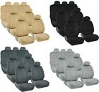 Universal Complete Set 3 Row 7 Passangers Triple Stitched SUV VAN Seat Covers