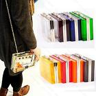 Acrylic Perspex #B Womens Clutch Purse Evening Bag Handbag Shoulder Bag 6 Colors