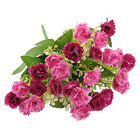 25 Heads Artificial Fake Carnation Flower Home Party Wedding Bridal Decor