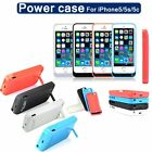 iPhone 5 5S 5C Portable Power Bank Battery Charger Charging Case Apple 2200mAh