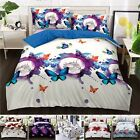 3D Effect 4 Pcs Duvet Covers With Fitted sheet  Bedding Set + 2 Pillow Case   image