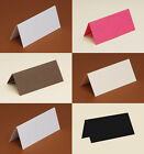 50 Table/Place cards 240gsm white, black, cream, ivory pearlescent, hammer,