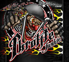 """HONDA 2003-2012 CR85 GRAPHICS WRAP """"THROTTLE JUNKIE"""" FOR OEM PARTS DECALS"""
